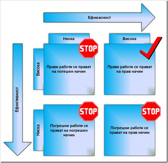 Матрица за бизнис ефективност и ефикасност