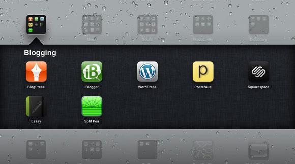 Апликации за блогирање за iPad