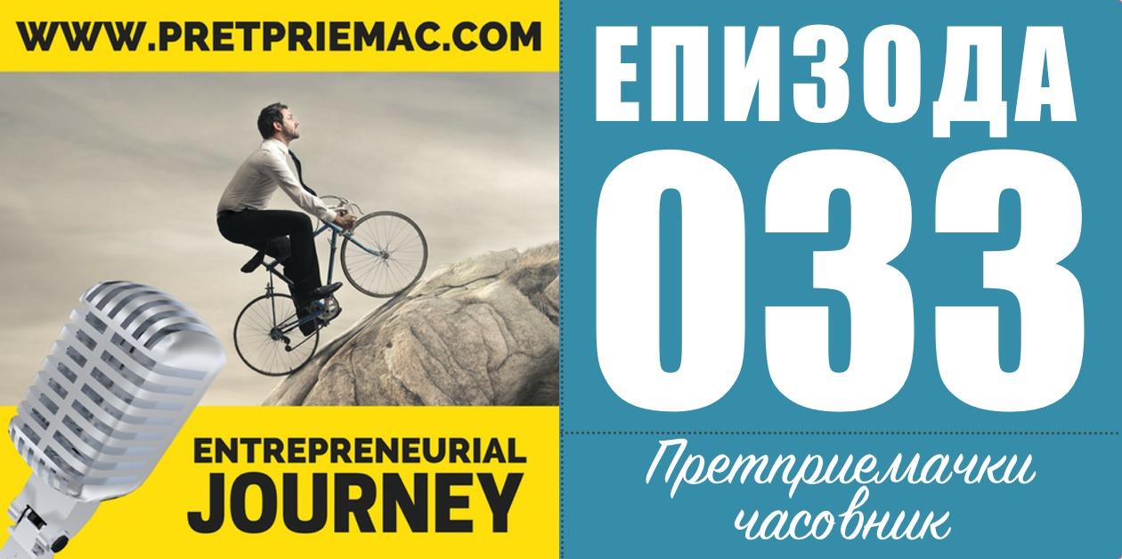 претприемачки пат - претприемачки часовник